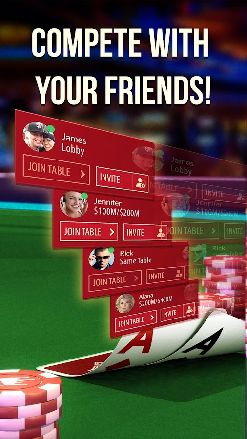 Zynga Poker – Texas Holdem- screenshot