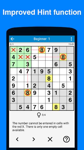 Sudoku - 5700 puzzles Free apktram screenshots 3