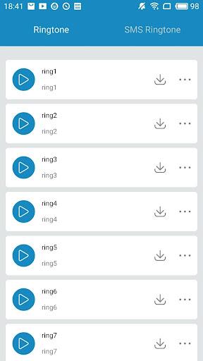 2018 Free New Ringtones 1.1.0.9 screenshots 2