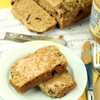 Healthy Bacon Peanut Butter Banana Bread