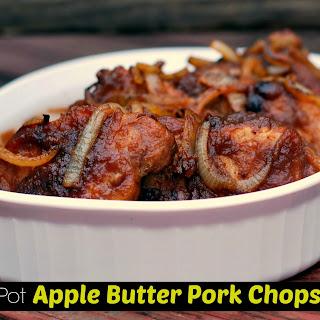 Instant Pot Apple Butter Pork Chops.
