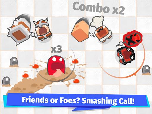 Smashers.io Foes in Worms Land 1.8 screenshots 12