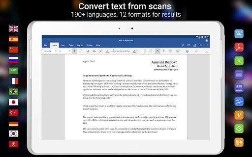ABBYY FineReader client 1.1.0.5 screenshots 10