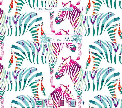 CoolWallpaper Colorful Zebras 1.0.0 Windows u7528 1