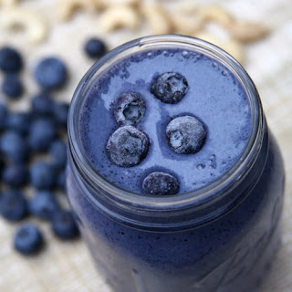 Blueberry Cheesecake Smoothie.