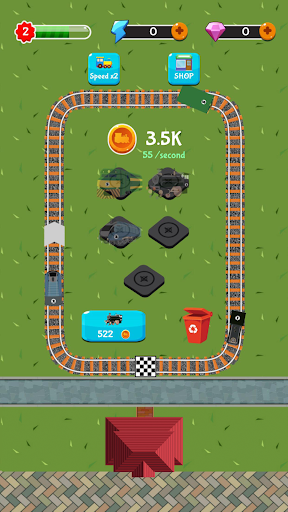 Train Station Manager - Idle Merge Game cheat screenshots 1