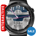 Brushed Chrome HD Watch Face Icon