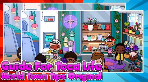 دليل للحصول على لقطات شاشة T0CA LIFE World Town Tips pro 5