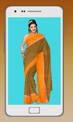 インドのドレス写真撮影