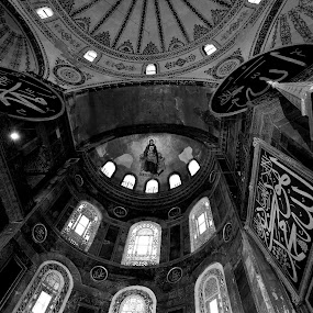 Two Faiths Under One Roof by Ibrahim Johan - Buildings & Architecture Public & Historical ( travel, istanbul )