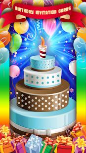 Birthday Invitation Cards - náhled