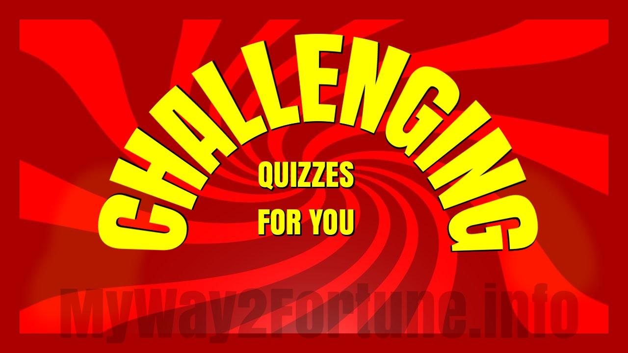 Try Our Popular Quizzes- screenshot