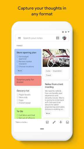 Google Keep - Notes and Lists 5.20.321.03.40 screenshots 1