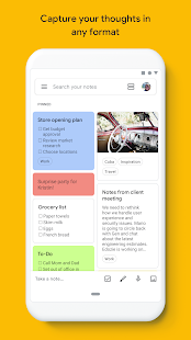 Google Keep - notes and lists Screenshot