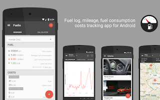 Screenshot of Fuelio: Fuel log & costs