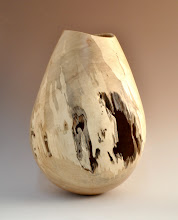 "Photo: Doug Pearson - Vessel - 15"" h x 9"" w - Spalted Maple"