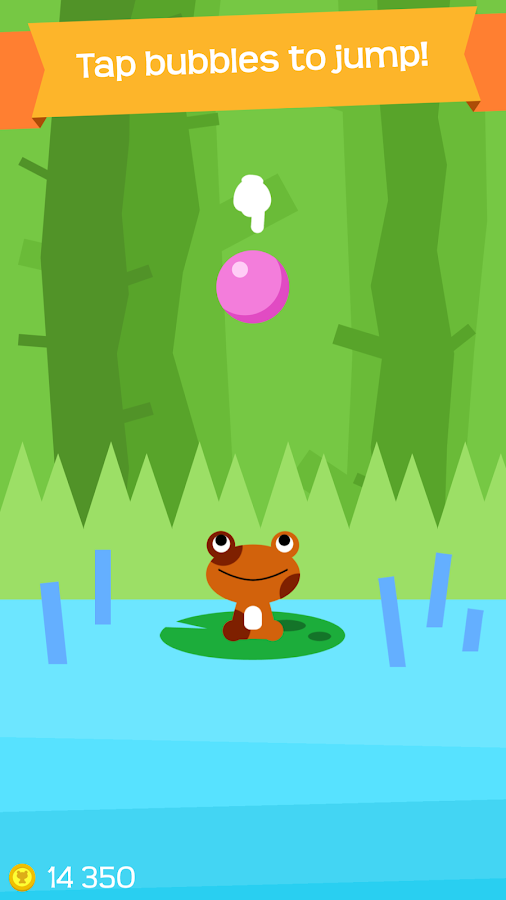 Bubble Toad- screenshot
