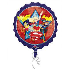 Folieballong, super girls