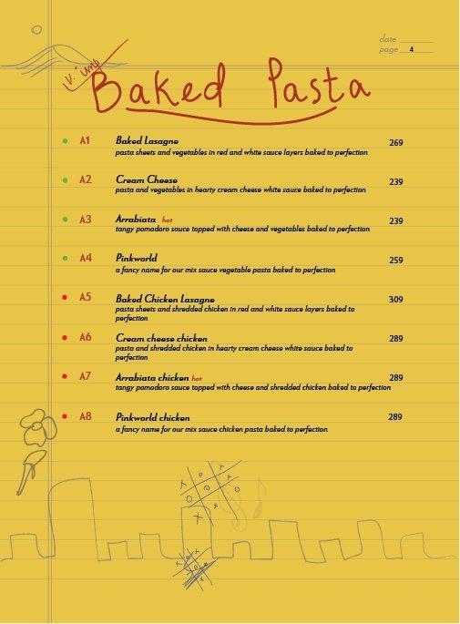 Echoes menu 5