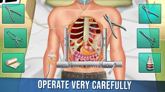 Open Heart Surgery New Games: Offline Doctor Games 1