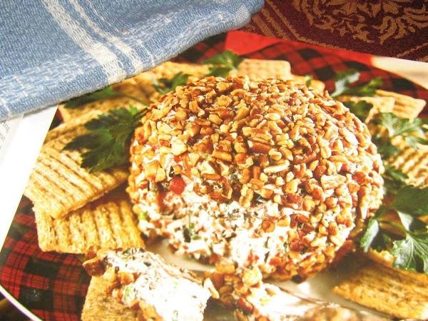 Sweet Cheese Pecan Ball Recipe