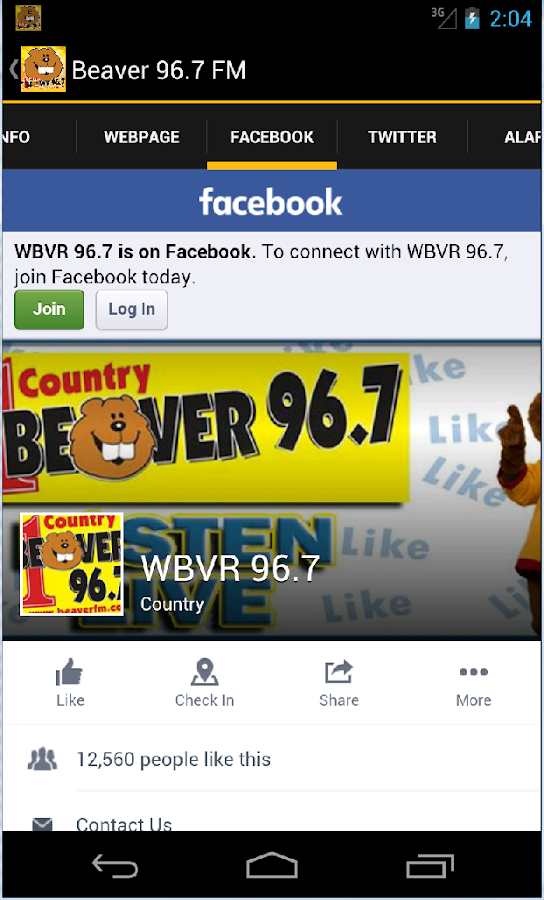 Beaver 96.7 - Android ...
