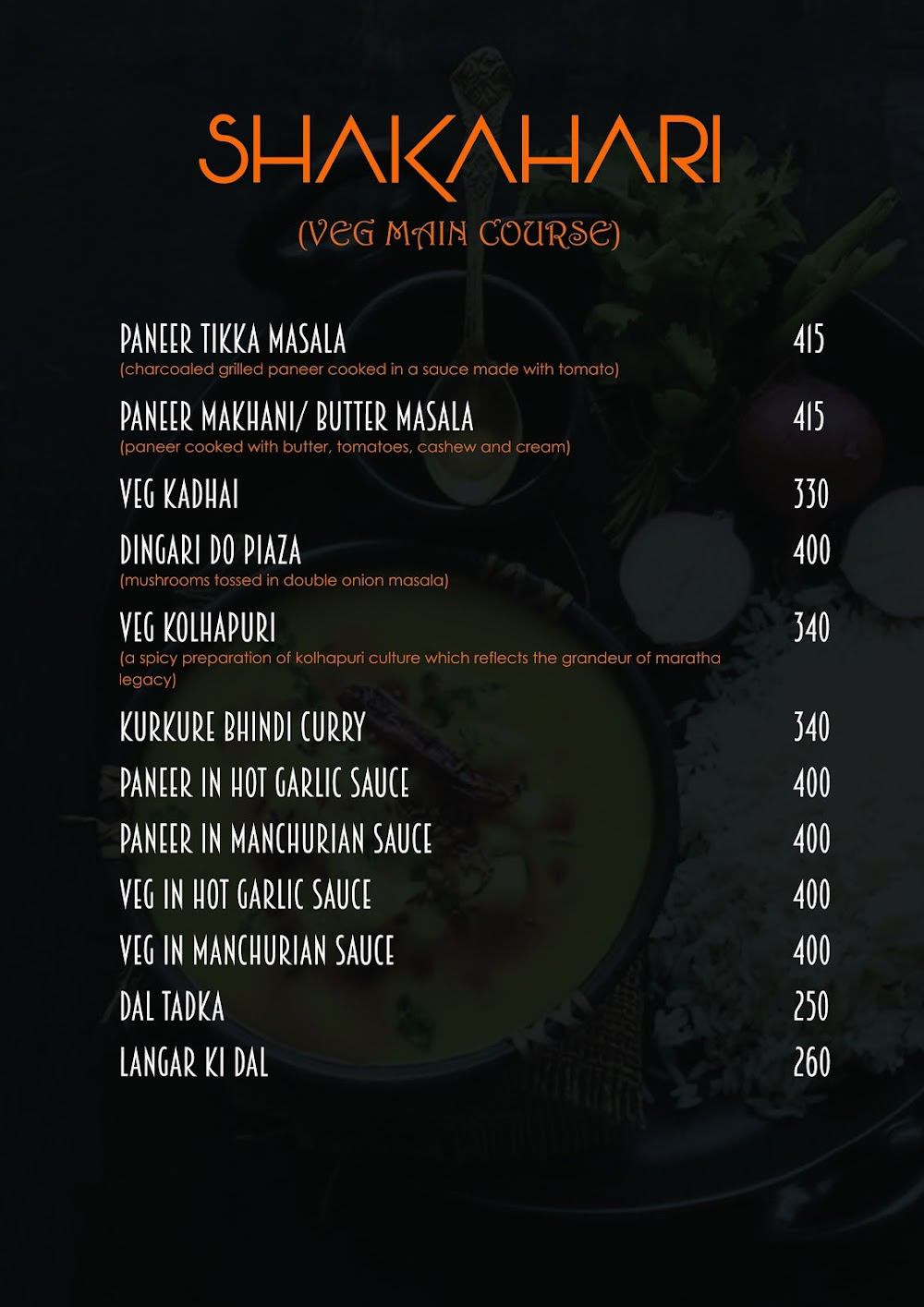 Pakka Local Bar menu 5