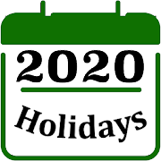 Holiday Calendar 2020 2019