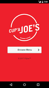 Cup'a Joe's Gourmet Coffee- screenshot thumbnail