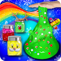 Glow In The Dark Christmas Slime Maker & Simulator icon
