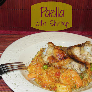 Slimmed Down Shrimp Paella