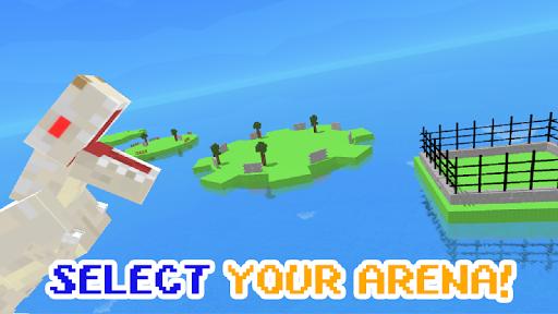 Blocky Dino Park: Apex Predator Arena 0.4 screenshots 2
