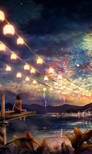 fireworks live wallpaper screenshot 0