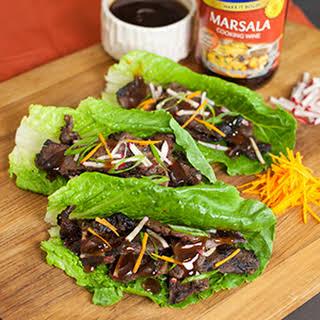 Lettuce-Wrapped Korean Short Ribs.