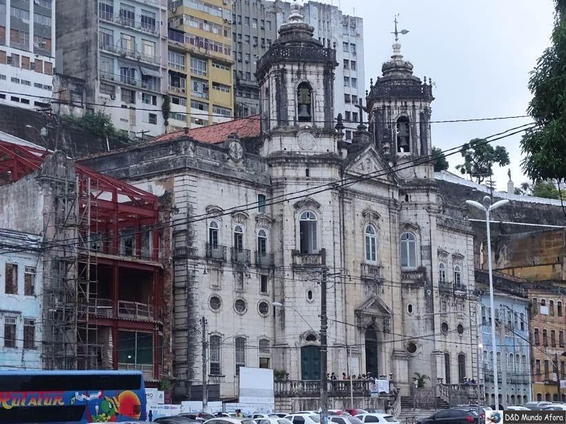 O que fazer em Salvador (Bahia) - Igreja Nossa senhora da Conceição da Praia