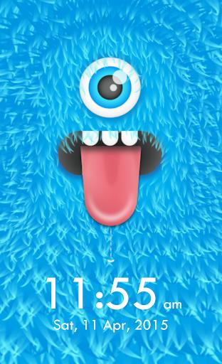 Monster Lock Screen