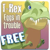 T-Rex Eggs in trouble FREE