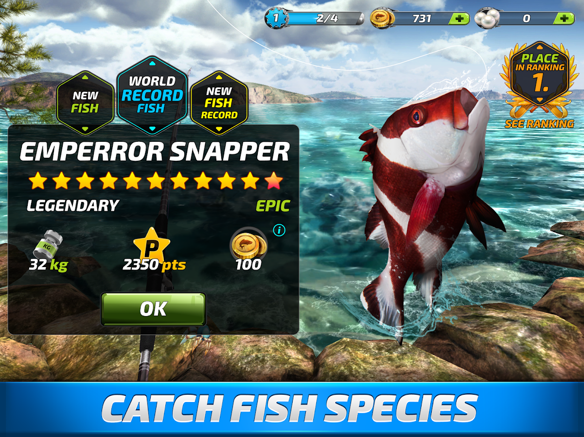 Fishing Clash: Catching Fish Game. Bass Hunting 3D- screenshot