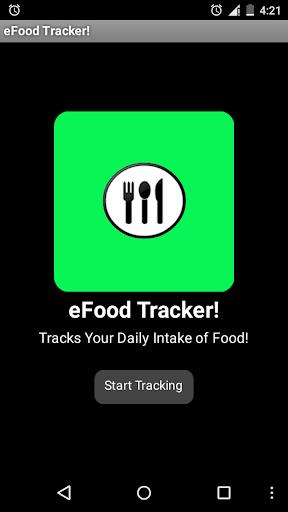 eFood Tracker