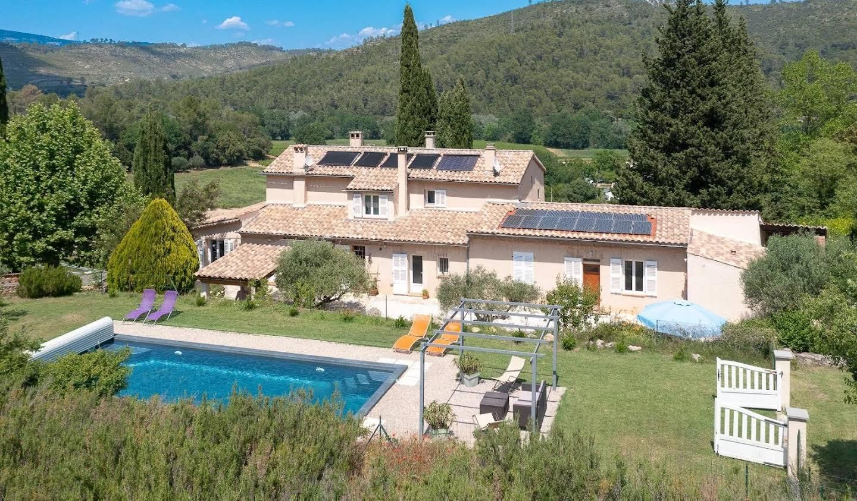 Villa avec jardin et terrasse Correns