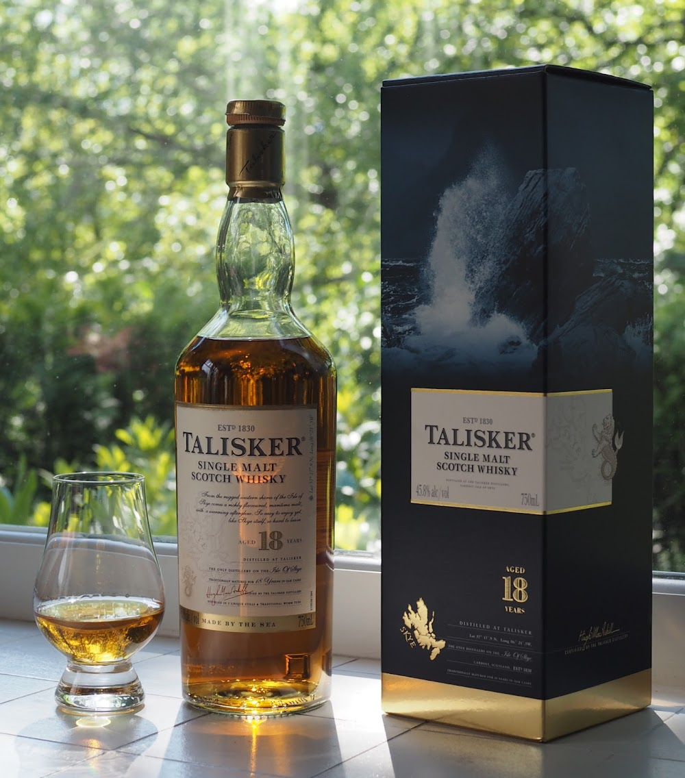 best-whisky-brands-india_Talisker_18_Price_Rs. 5548 for 750 ml.