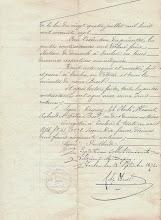 Photo: Acte de Société entre EBERLÉ, HÉRAUT et DUPUIS - 1874 - page9