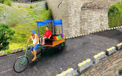 Bicycle Rickshaw Simulator 2019 : Taxi Game 3.2 com.bajake.rikshaw apkmod.id 3