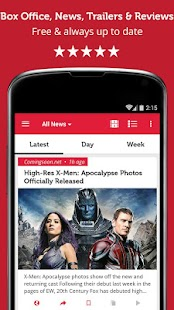 Movie & Box Office News- screenshot thumbnail