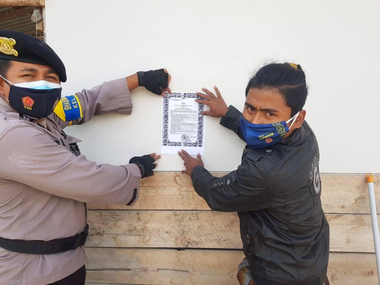 Polsek Kumai Rutin Sosialisasi Maklumat Kapolri Terkait Pelarangan Ormas FPI