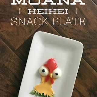Disney's Moana HeiHei Snack Plate Recipe!