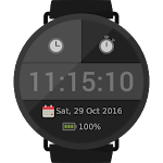 myTime StopWatch Face Digital Icon