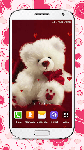 Sweet Teddy Bear Wallpaper 3.5 screenshots 6