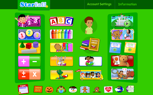 Starfall FREE- screenshot thumbnail