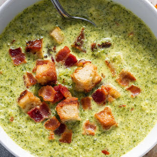 Cheesy Broccoli Soup